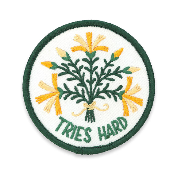 Floral Feelings - Tries Hard Patch (Limited Edition!)