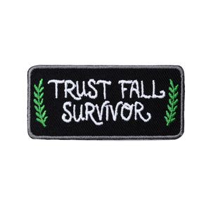 Trust Fall Survivor Patch