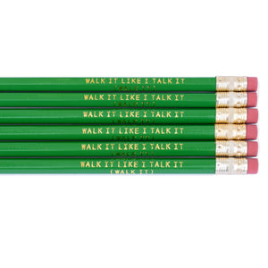 "Migos ""Walk It Like I Talk It (Walk It)"" Pencils Set of 6"