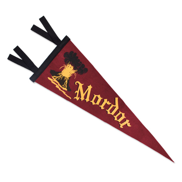 Mordor Lord of the Rings Pennant