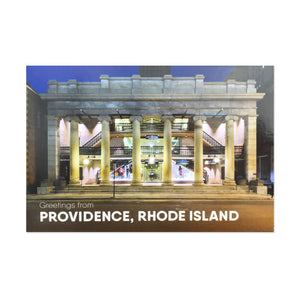 The Arcade Greetings from Providence, Rhode Island Postcard