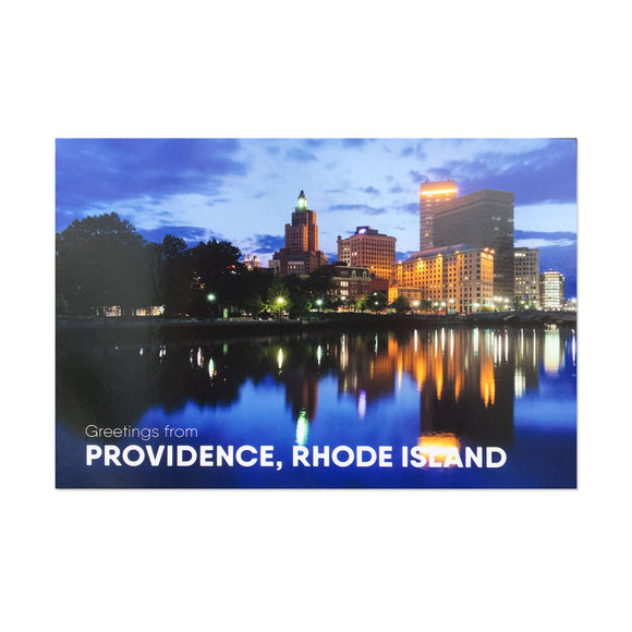 Downtown Providence Postcard