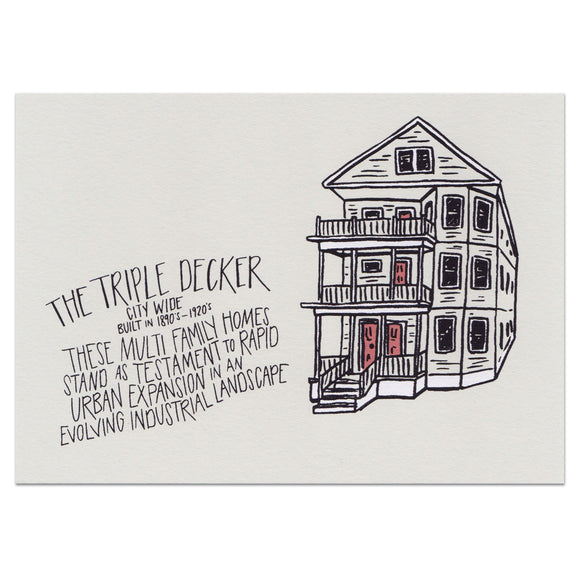The Triple Decker Print