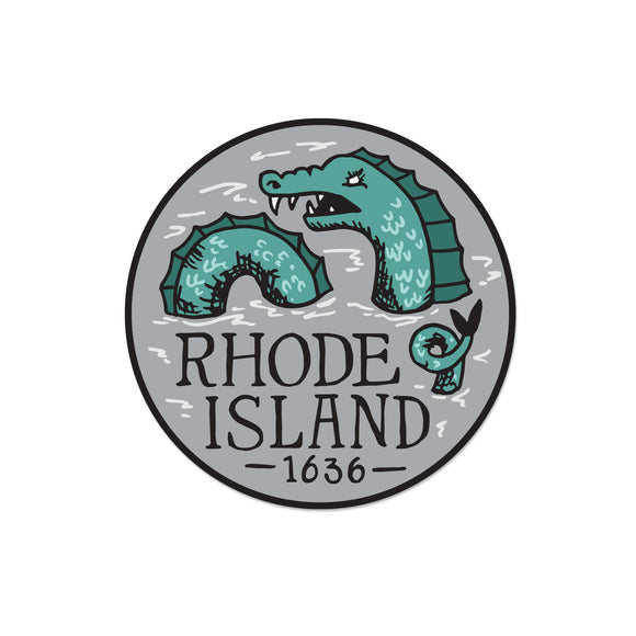 Rhode Island Serpent Sticker