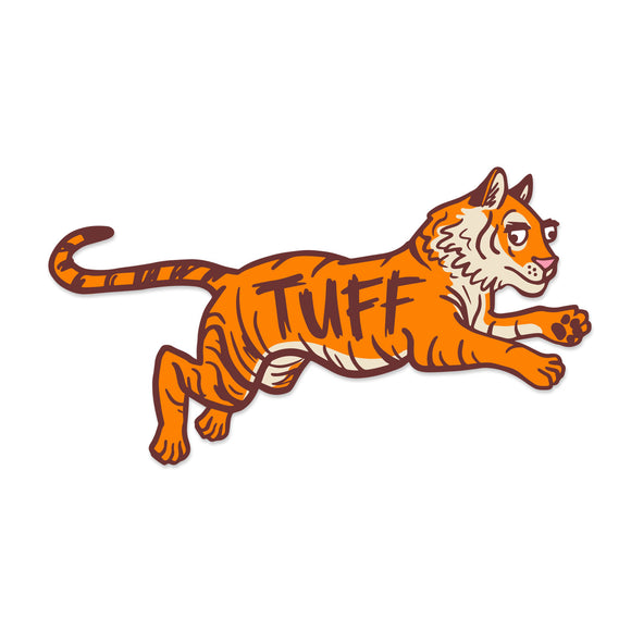 Tuff Tiger Sticker