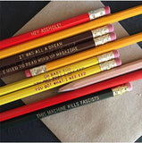 "Woody Guthrie ""This Machine Kills Fascists"" Pencils Set of 6"