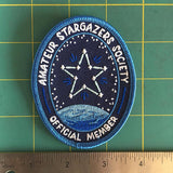 Amateur Stargazers Society Patch (Glows in the dark!)