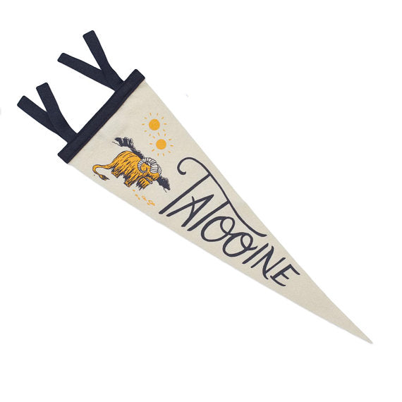 Tatooine Star Wars Pennant
