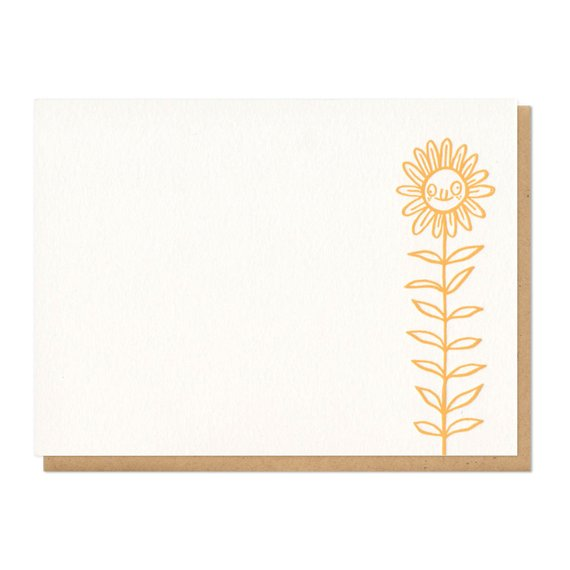Derpy Flower Boxed Set of 8 Flat Cards