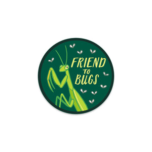 Friend to Bugs Sticker
