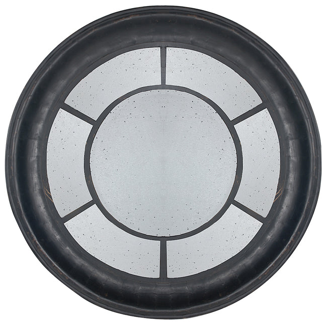 M.C.F Round Window Mirror