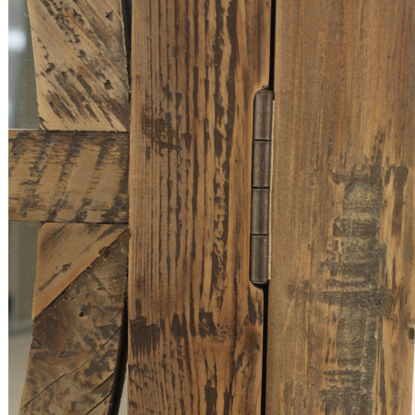 Keats Armoire Natural Reclaimed Pine Armoire close up