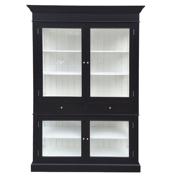 Zanzibar two door bookcase