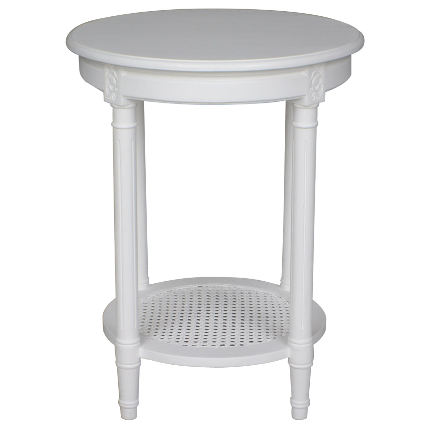Round Polo Side Table