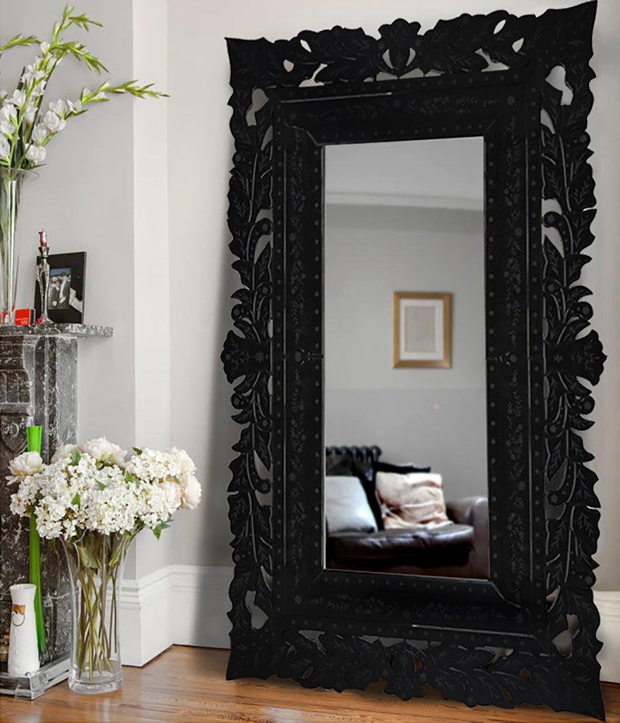 French Lace Mirror