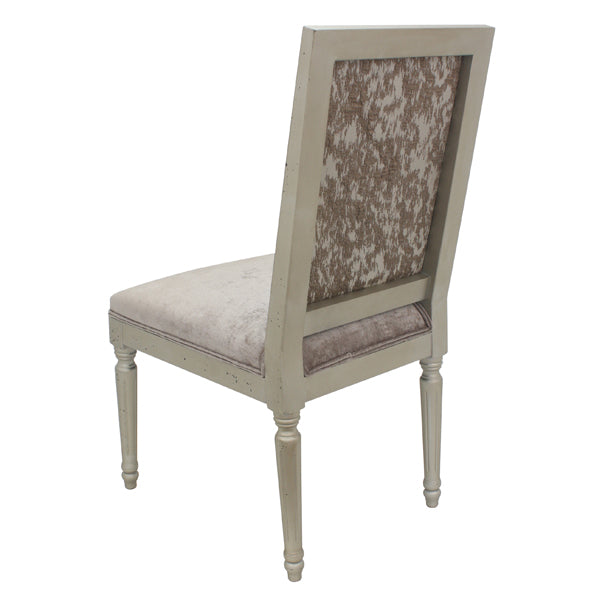 Metropolitan's Antique Gold Dining Chair