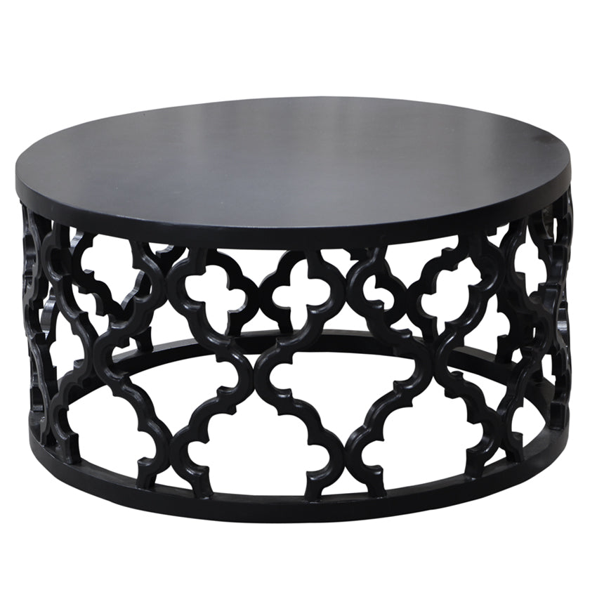 Black Mustique Coffee Table