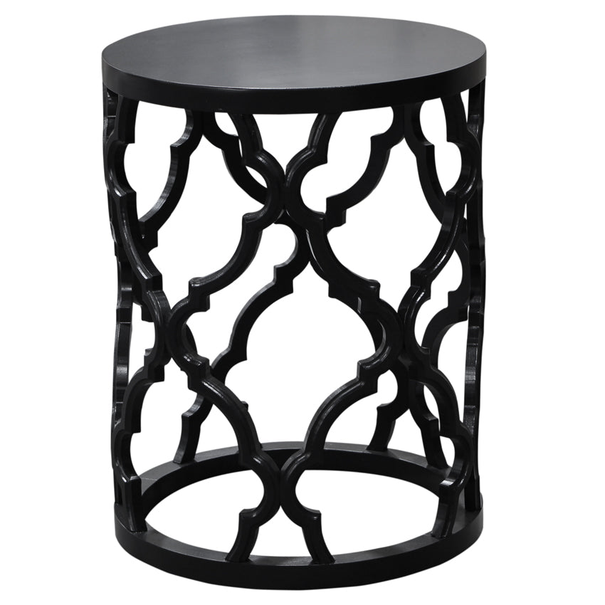 Black Mustique Side Table