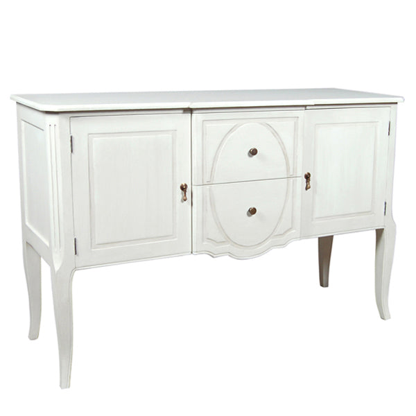 White Chester Sideboard