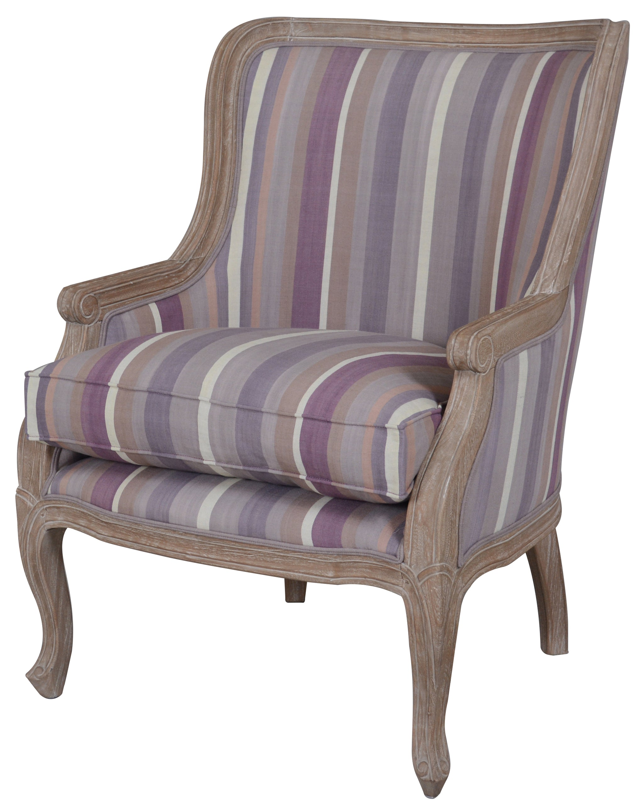 Macready Striped Armchair