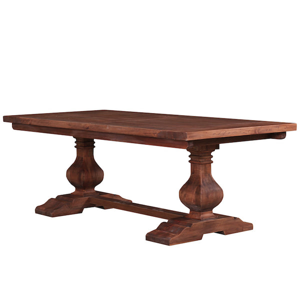 Country Cottage Trestle Rectangular Dining Table