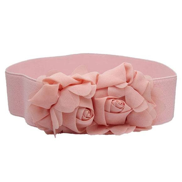 Feitong Double Rose Flower Belt - 79,865 elia9