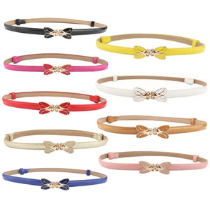 Klv Candy Color Leather Belt - 79,865 elia9