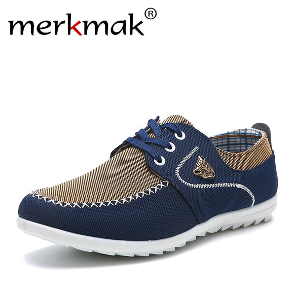 Merkmak Canvas casual Loafers shoes - DayanaM