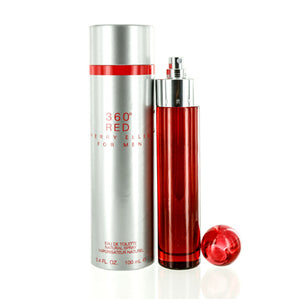 360 RED FOR MEN/PERRY ELLIS EDT SPRAY 3.3 OZ
