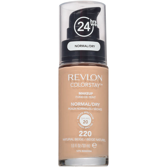 format40-  Revlon ColorStay Makeup For Normal/Dry Skin, Natural Beige
