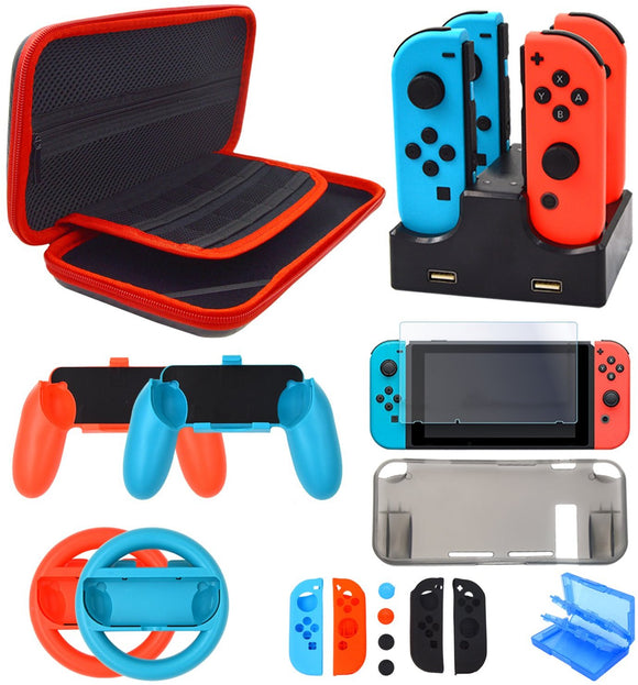 dayanaformat30- Accessories Kit for Nintendo Switch (17 In 1)