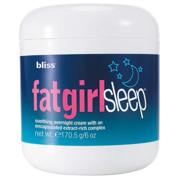 Bliss Fat Girl Slim Sleep Overnight Cream - eliaformat30
