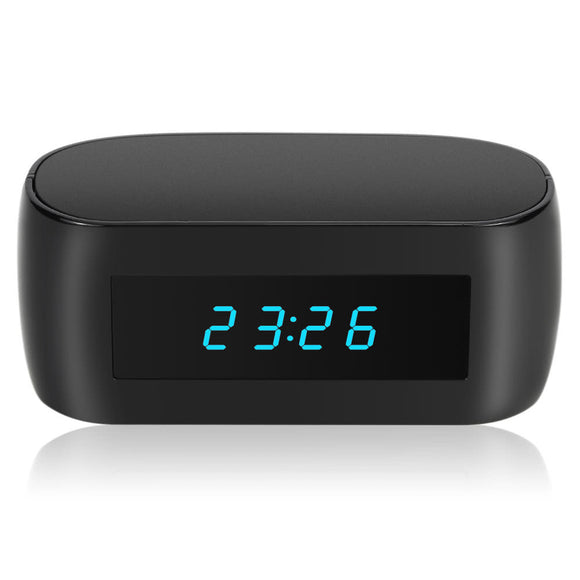 1080P  WIFI Hidden Spy Alarm Clock