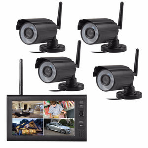 2.4G  digital  wireless  CCTV  security system
