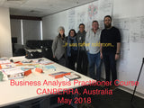 BA PRACTITIONER 3 DAY IN PERSON CLASSROOM TRAINING - CANBERRA