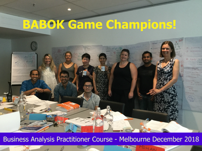 BA PRACTITIONER 3 DAY IN PERSON CLASSROOM TRAINING - MELBOURNE