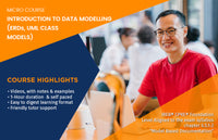MICRO COURSE: INTRODUCTION TO DATA MODELING (ERDs, UML Class Diagrams)