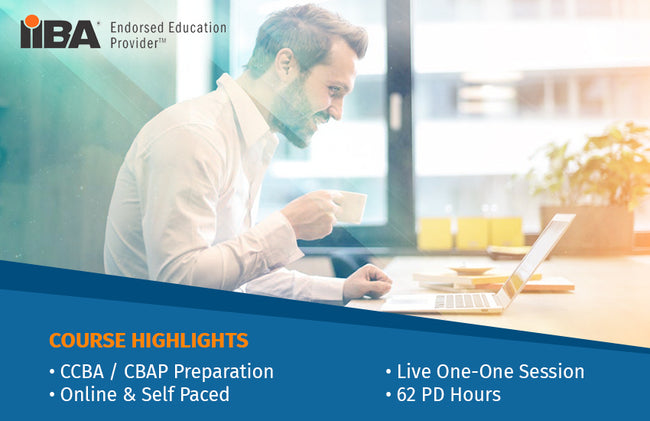 BAE ADVANCED TRAINING PROGRAM - CCBA/CBAP CERTIFICATION PREPARATION
