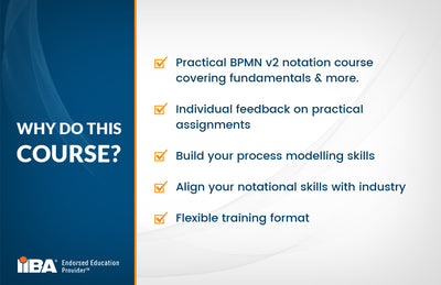 BAE STAGE 3 BUSINESS PROCESS FUNDAMENTALS USING BPMN v2.0 COURSE - EARN 21 PD HOURS/CDUs