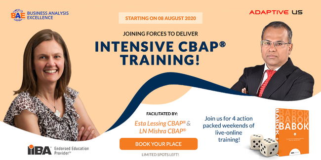 CBAP® Live Online Weekend Training