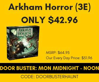 Cyber Monday Midnight - Noon Arkham Horror 3rd Edition Only $42.96
