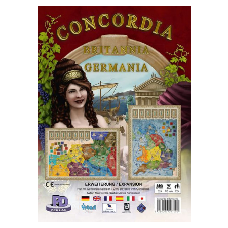 Concordia: Britannia and Germania Expansion