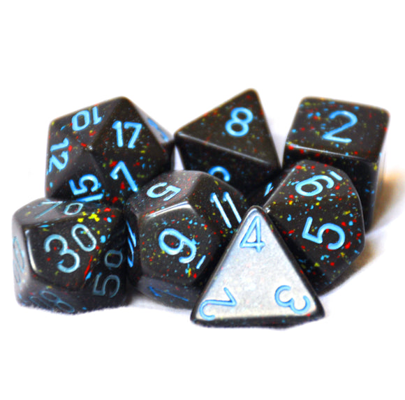 Chessex Speckled Blue Stars Polyhedral Die Set