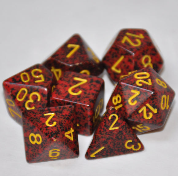 Koplow Games Elemental Mercury Polyhedral Die Set