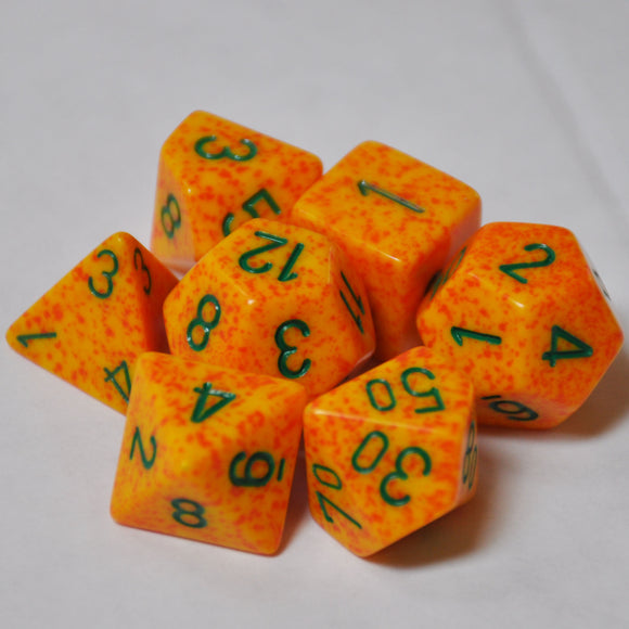 Koplow Games Elemental Lotus Polyhedral Die Set