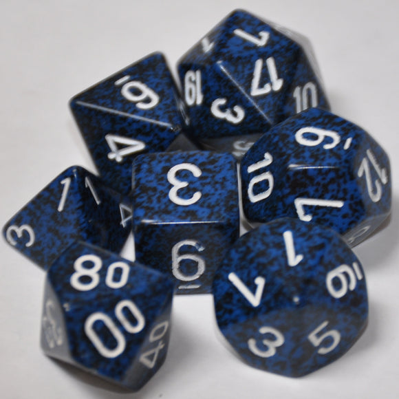 Koplow Games Elemental Stealth Polyhedral Die Set