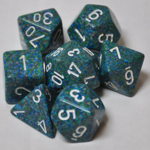 Koplow Games Elemental Sea Polyhedral Die Set