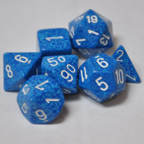 Koplow Games Elemental Water Polyhedral Die Set