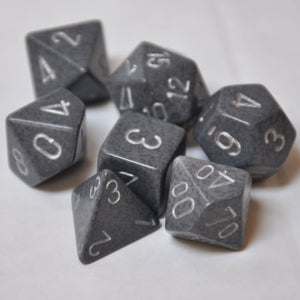 Koplow Games Elemental Hi Tech Polyhedral Die Set