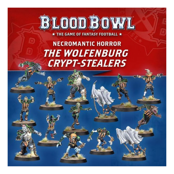 Blood Bowl: Necromantic Horror Team - The Wolfenburg Crypt-Stealers